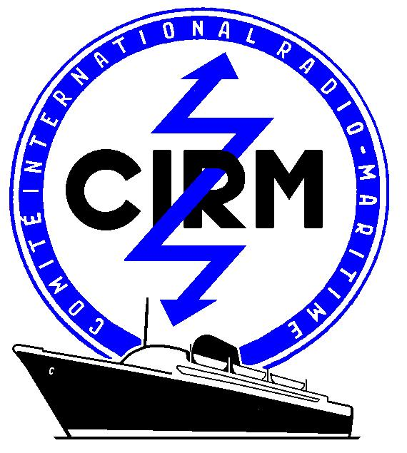 The CIRM logo desgned by the artist Henning Köke and used from 1957 to 2005